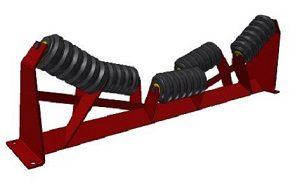 Conveyor Systems - Idler Frame - Heavy Duty - Impact Trough Frame - 5 Roll